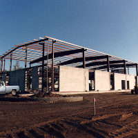 PRE-ENGINEERED STEEL BUILDING - OFFICE CONSTRUCTION