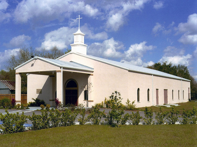 Church construction tampa bay fl miller contracting inc for Church building designs