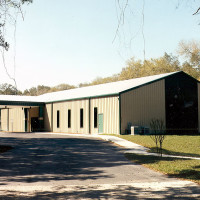 Terrace Palms pre-engineered steel building church